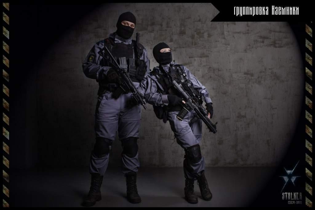 картинки сталкер наёмников