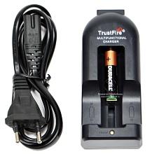 детальное фото для раздела TrustFire Зарядное устройство для батареек фонаря (Li-ion) интернет-магазин